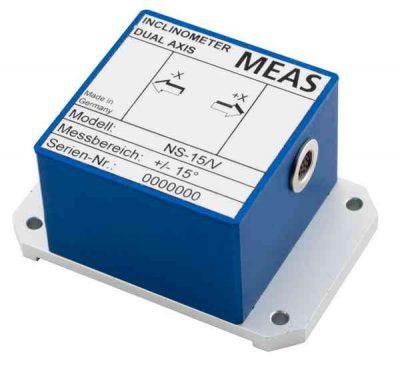 Sensor de inclinación con salida analógica y digital