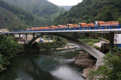 Pruebas de carga en puentes