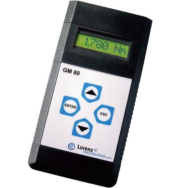 Visualizador - registrador portátil para sensores activos y pasivos