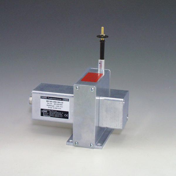 Sensor de posición lineal por cable