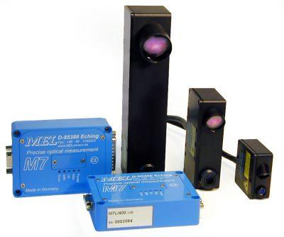 Sensores de desplazamiento láser
