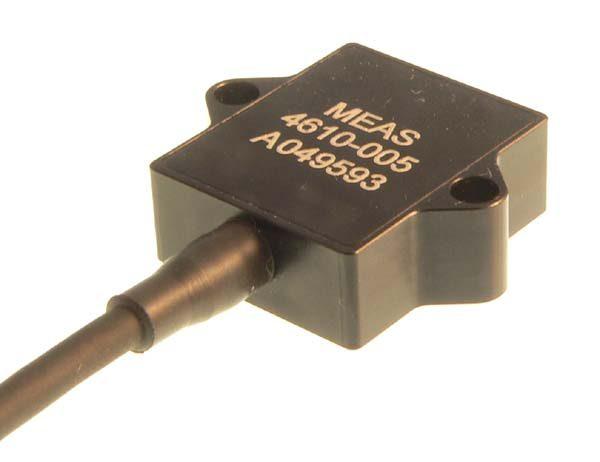 Acelerómetro piezoresistivo MEMS amplificado