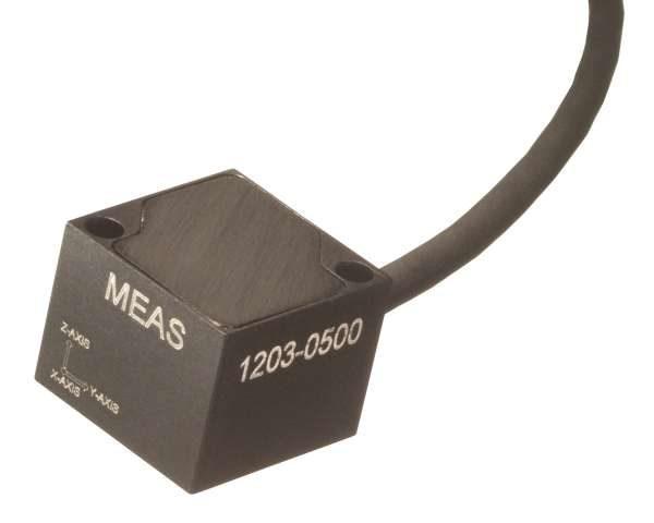acelerómetro multiaxial MEMS