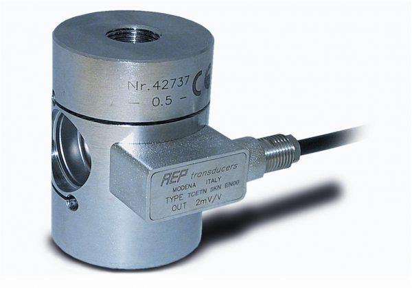 Célula de carga cilíndrica tracción-compresión rosca hembra