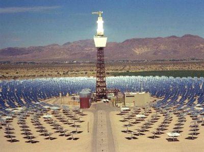 Control y posicionamiento en concentradores solares
