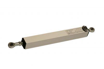 Sensor de posición lineal resistivo doble rótula