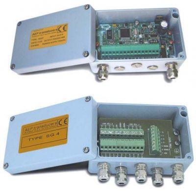 Electrónicas protegidas en caja robusta