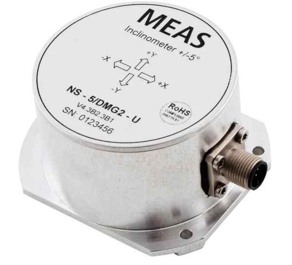 Inclinómetro de dos ejes DMG2