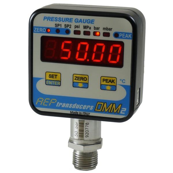 Sensor de presión con visualizador LED