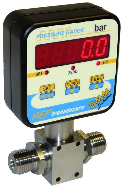 manómetro digital diferencial - sensor de presión diferencial digital