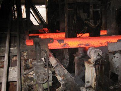 Control de producción siderúrgica