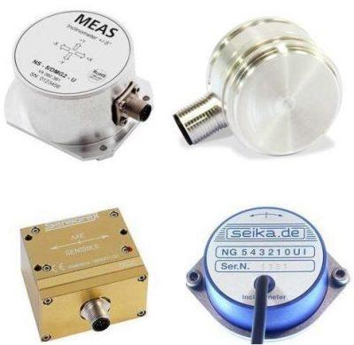 Inclinómetros - Sensores de inclinación