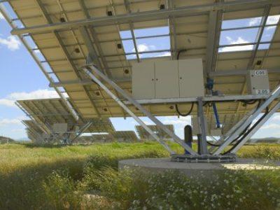 Control y posicionamiento en seguidores solares