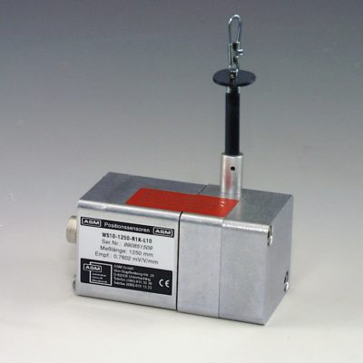 Sensor de distancia por cable