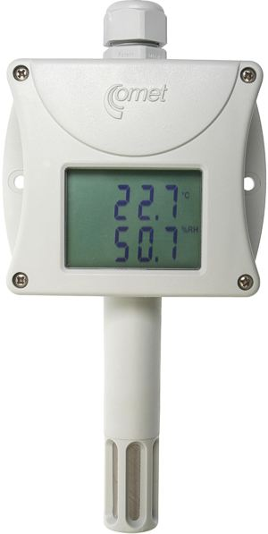 Sondas de temperatura y humedad amplificadas