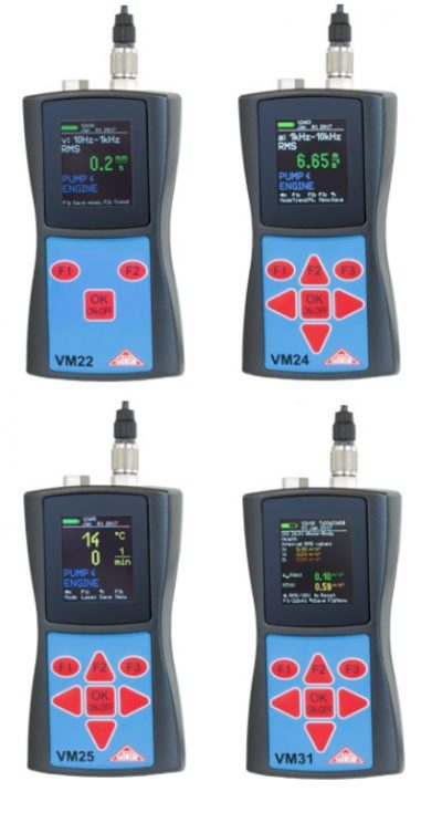 vibrómetro portátil con salida USB