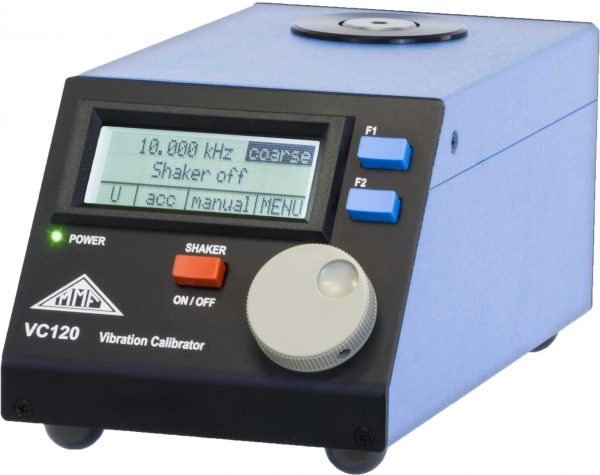 calibrador de acelerómetros e instrumentación electrónica METRA MMF VC120