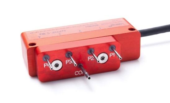 Escáner de presión diferencial de cuatro canales