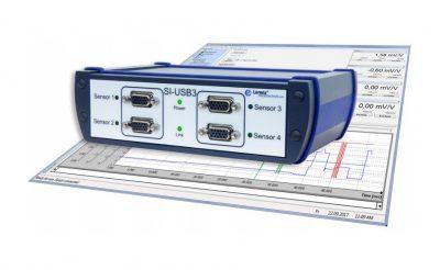 Módulo de adquisición de datos económico USB