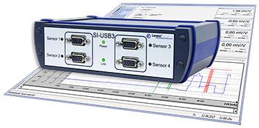 Adquisición de datos vía USB