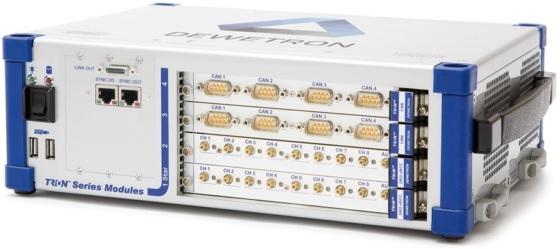 Equipo de adquisición de datos DEWETRON DEWE2-M4
