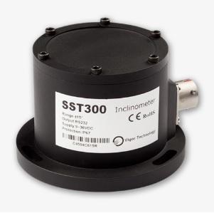 inclinómetro con conexión USB