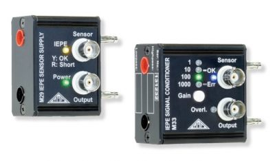 Electrónica para acelerómetros piezoeléctricos