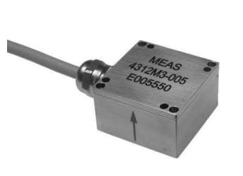 Acelerómetro uniaxial sumergible con salida 4-20mA