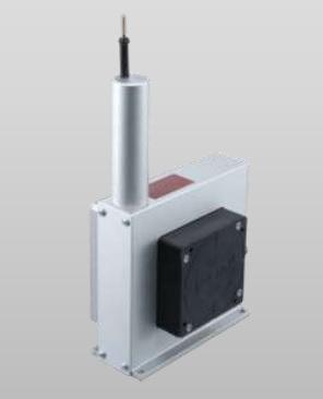 Sensor de distancia por hilo