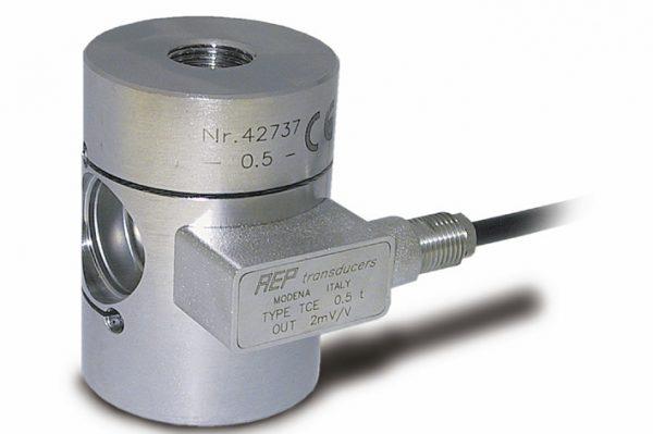 Sensor de fuerza tracción-compresión para ensayos