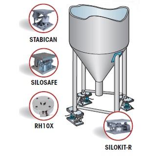 Sistema de pesaje en silos y tanques